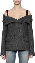 Faith Connexion 'tweed Sailor' Jacket