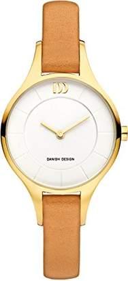 Danish Design Women's Analogue Quartz Watch with Leather Strap DZ120643