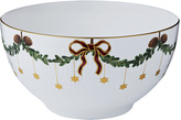 Royal Copenhagen Star Fluted Christmas Bowl