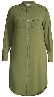 Baacal, Plus Size Utility Shirtdress