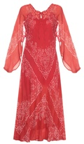 Mes Demoiselles Bonita bandana-print maxi dress