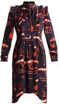 Wesc ILVA VOODOO Summer dress navy blazer