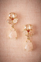 BHLDN Blushing Crystal Drop Earrings