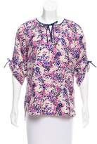 Yumi Kim Printed Silk Top