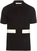 Givenchy Cuban-fit stripe-appliqué cotton polo shirt