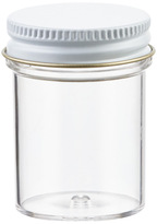 Container Store 1 oz. Plastic Screw-Top Jar Clear