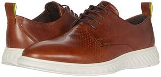 Ecco ST.1 Hybrid Lite Modern Tie (Black) Men's Shoes