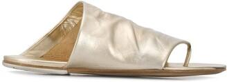 Marsèll Metallic Slip-On Sandals
