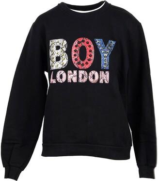 Boy London Black Cotton Women's Sweater