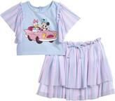 Pippa & Julie x Disney Minnie Mouse & Daisy Duck Tee & Skirt Set