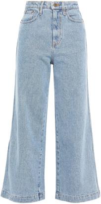 Nanushka High-rise Wide-leg Jeans
