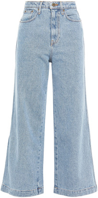 Nanushka Ramos High-rise Wide-leg Jeans