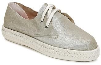 Bunker IBIZA women's Espadrilles / Casual Shoes in Silver