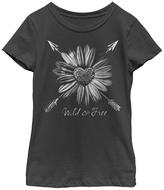 Fifth Sun Black 'Wild & Free' Tee - Toddler & Girls