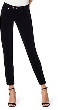 Ramy Brook Velveteen Katie Skinny Jeans in Black