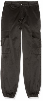 New Look Girl's Satin Cargo Trousers
