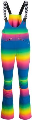 Perfect Moment Isola rainbow-print overalls