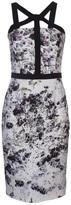 Cushnie et Ochs floral crepe dress