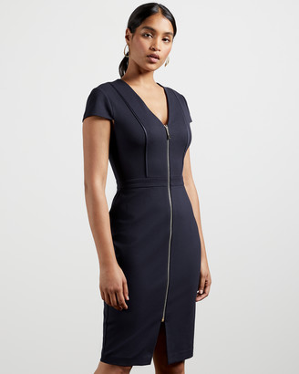 Ted Baker CYANTHE Piping Detail Bodycon Dress