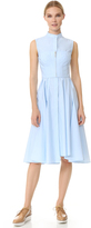 Jason Wu Cotton Twill Sleeveless Dress