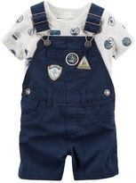 Carter's Baby Boy Road Trip Tee & Shortalls Set