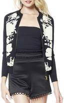 Gracia Leaf Embroidery Jacket