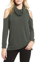 Cupcakes And Cashmere Women's Malden Cold Shoulder Sweater