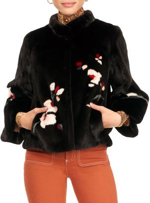 Gorski Mink Fur Jacket W/ Bell Sleeves