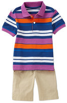 Class Club 2T-7 Polo Shirt & Short Set
