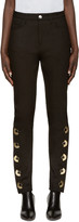 Anthony Vaccarello Black Skinny Av Jeans