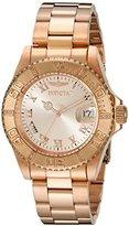Invicta Men's 12821 Pro Diver Rose Dial Diamond Accented Watch