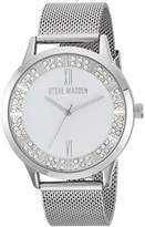 Steve Madden Women's Quartz and Alloy Casual Watch