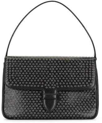 Alaïa Pre-Owned Eyelet-Embellished Shoulder Bag