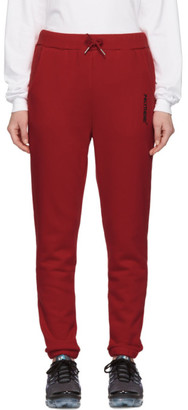 Polythene* Optics Red Fleece Lounge Pants