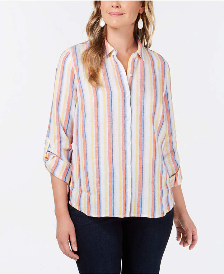 2c9365cf Petite Charter Club Shirts - ShopStyle