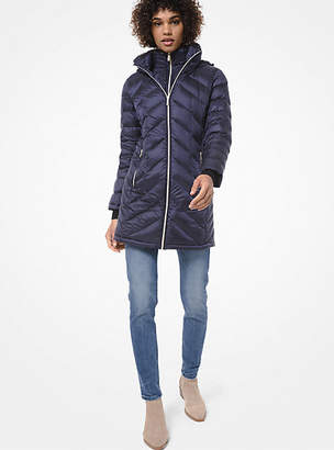 Michael Kors Quilted Nylon Packable Puffer Coat