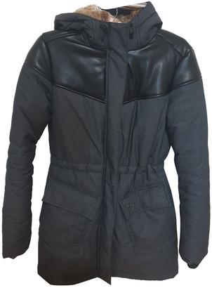 Hummel Grey Polyester Coats