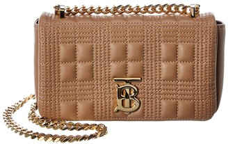 Burberry Mini Lola Quilted Leather Crossbody