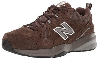 New Balance SINGLE SHOE - 608v5 (Chocolate Brown/White) Men's Shoes