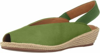 Gentle Souls by Kenneth Cole Women's Luci Slingback Espadrille Wedge Sandal