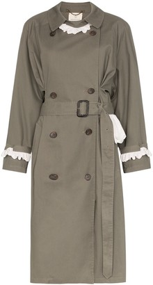 Rentrayage Weekend in Sandringham trench coat