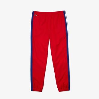 Lacoste Men's SPORT Contrast Bands Lightweight Tracksuit Pants
