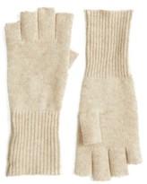 Halogen Women's Cashmere Fingerless Gloves