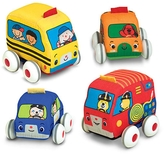 Melissa & Doug Pull-Back Vehicle Toy