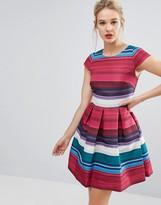 Ted Baker Stripe Full Skater Dress