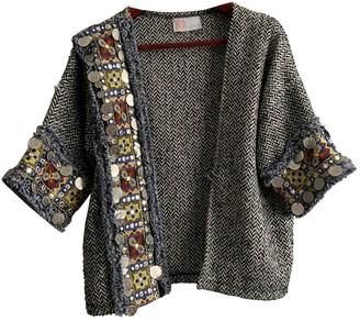 Lm Lulu Grey Cotton Jacket for Women