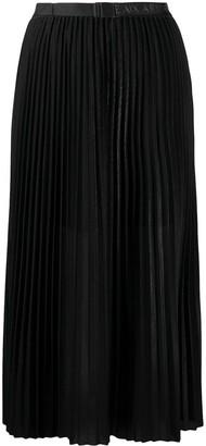 Armani Exchange Pleated Midi Skirt