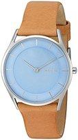 Skagen Women's SKW2451 Holst Light Brown Leather Watch