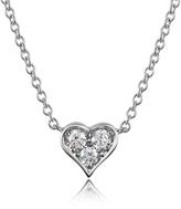 Forzieri 0.31 ct Diamond Heart Pendant Necklace