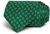 Salvatore Ferragamo Medium Spaced Rope Gancini Classic Tie